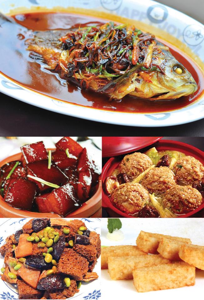 新亞廚房各式上海菜 ,正宗地道美味。鄭重推介「蔥烤活鰂魚」,新鮮美味,現特價優惠。
