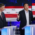 民主黨初選辯論入圍競爭激烈 楊安澤9月恐失資格