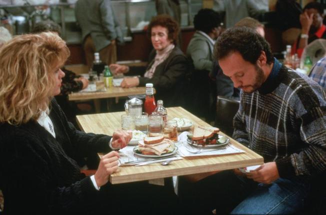 「當哈莉遇上莎莉」梅格萊恩和比利克斯托在這裡用餐。(取自電影臉書)
