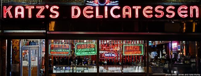 Katz's Delicatessen被視為紐約人的驕傲。( 取自Katz's Delicatessen臉書)