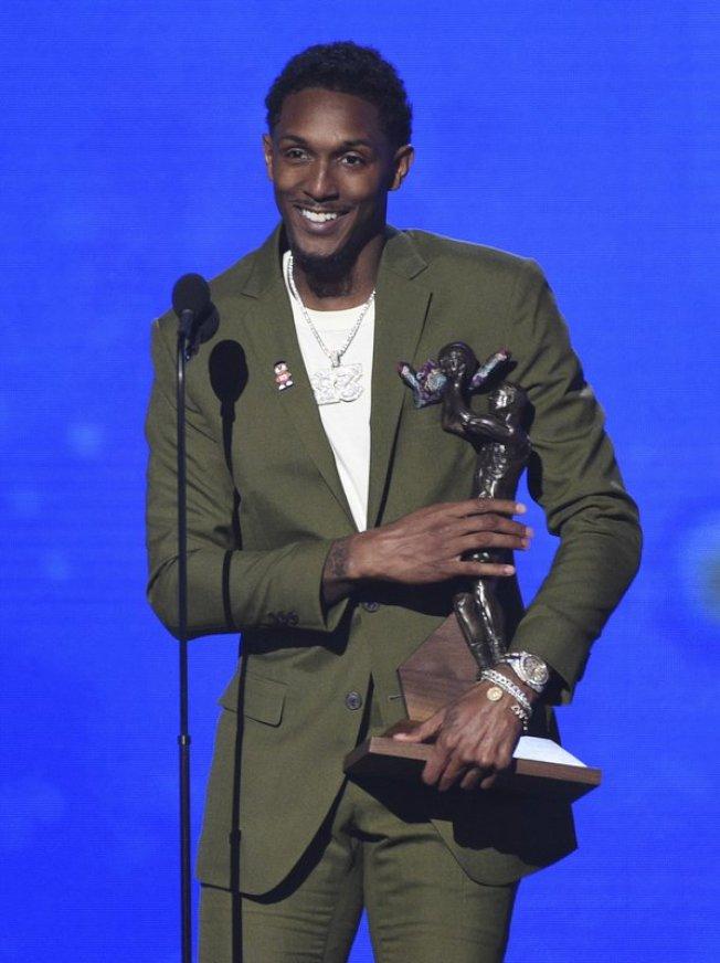 威廉斯第三次獲選NBA第六人獎。(美聯社)