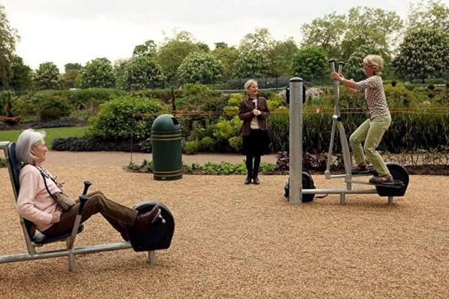 樂享老年每天運動30分鐘