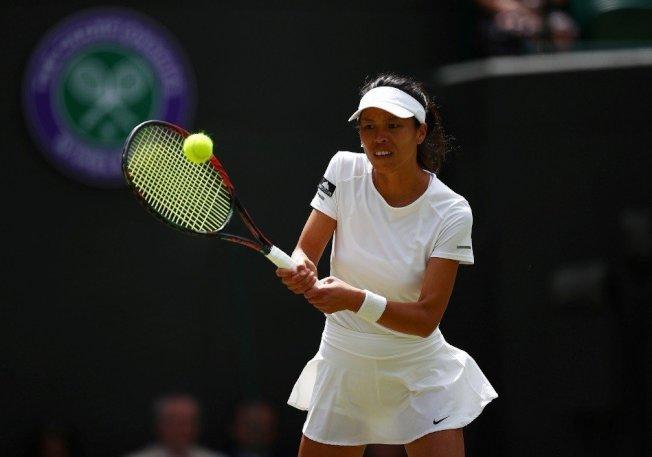溫網女雙決賽,謝淑薇延一天再戰。 (路透資料照)