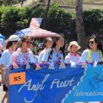 森林湖國慶遊行 華裔團體亮眼