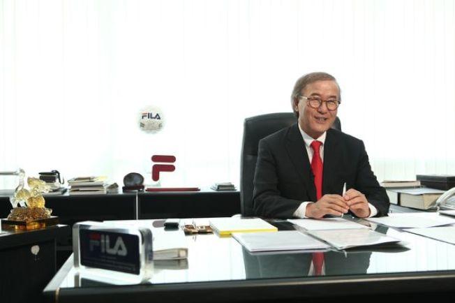 FILA執行長尹潤洙。(圖/FILA官網)