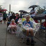 國慶兩樣情!國會這側演唱會 林肯紀念堂那廂川粉聚集