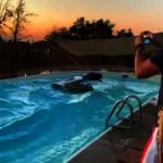 「又來!」南加州7.1強震 民宅泳池掀大浪