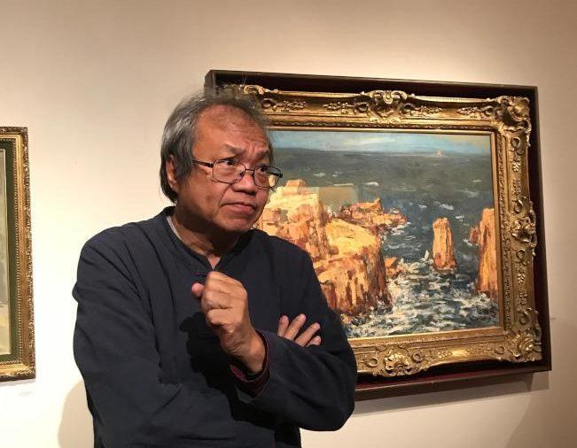 成功大學歷史系教授蕭瓊瑞。(熊傳慧/攝影)