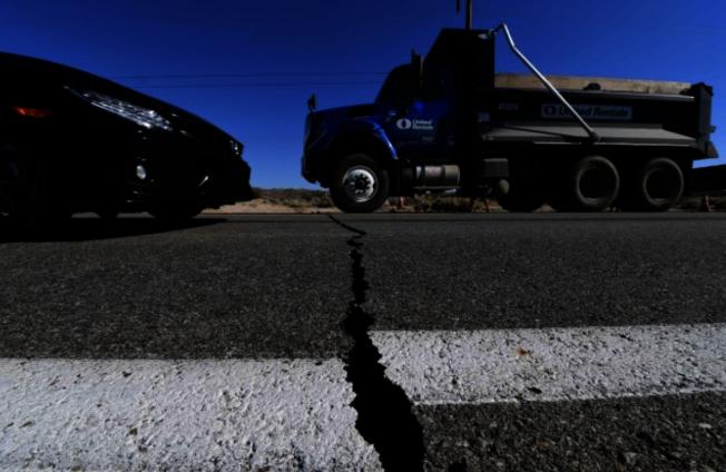 南加州4日、5日連續發生兩次強震,嚇壞洛杉磯地區居民。(Getty Images)