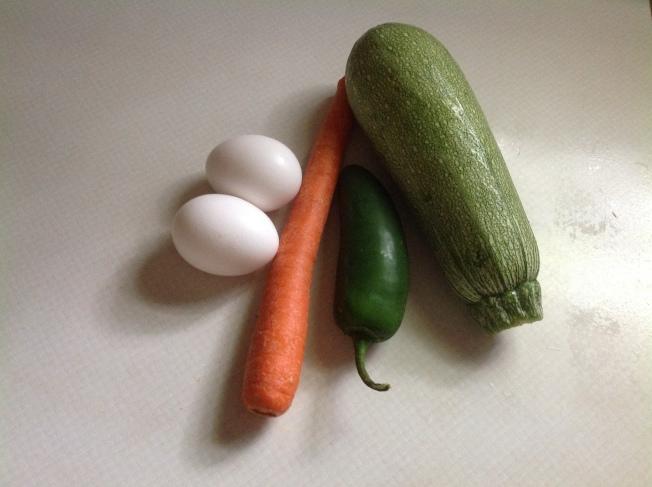 韓式蔬菜餅材料