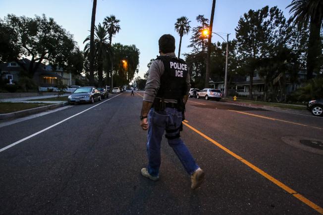 聯邦移民單位即將展開遞解有重大前科的無證移民出境。(美聯社)
