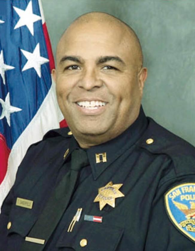 周末起接任灣景分局長的丹吉菲德。(舊金山警局)