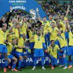 美洲杯╱巴西睽違12年再稱王 「他」頂替內馬爾、登決賽最佳球員