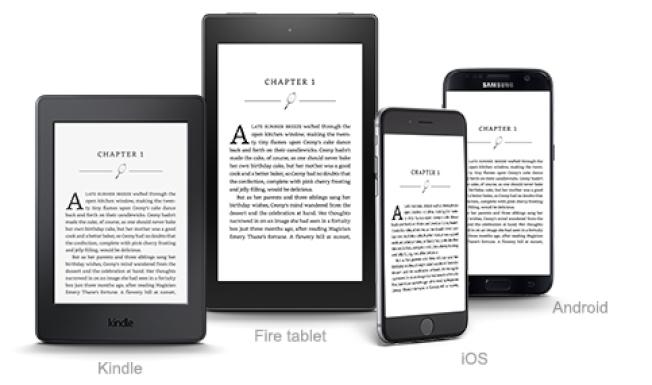 亞馬遜不斷更新發展Kindle電子閱讀器,以跟上一般平板電腦的步伐。(亞馬遜)