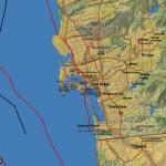 高風險區!聖地牙哥玫瑰峽谷斷層啟動 恐釀規模7.4地震