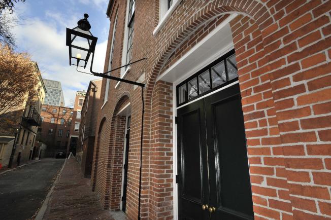 在波士頓的非洲裔聚會所,是受到聯邦補助的古蹟歷史保護。(美聯社)