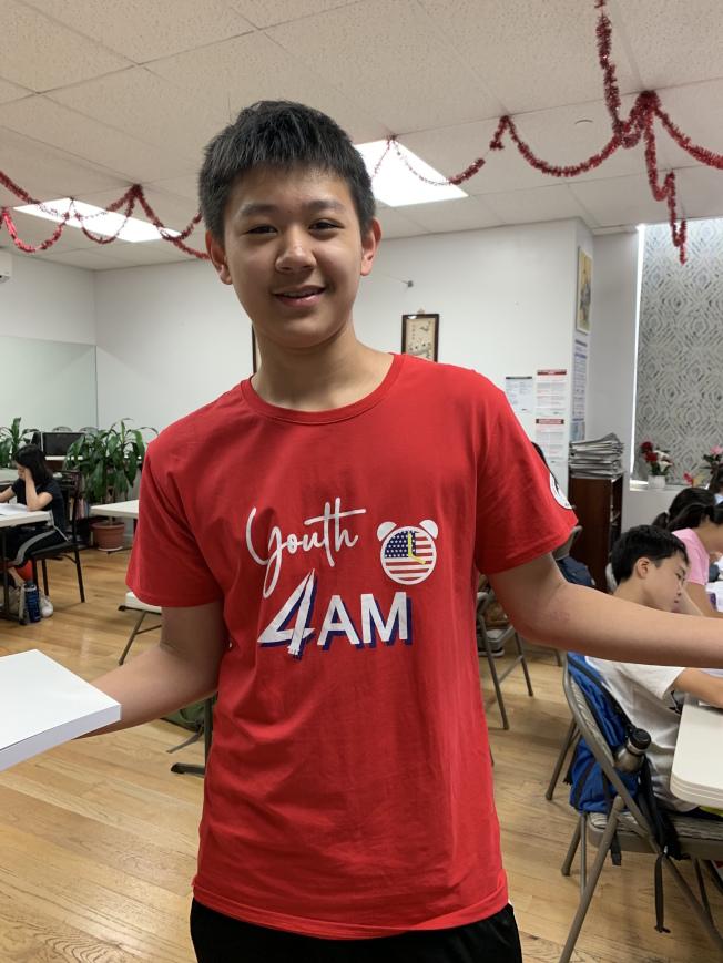 夏令營邀請多名特殊高中學生擔任輔導小老師。(記者賴蕙榆/攝影)