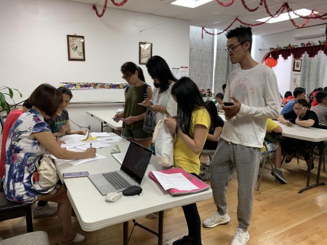紐約市居民聯盟舉辦首屆「暑期學習夏令營」,規畫特殊高中入學考試準備及少年領袖培訓計畫等課程。(記者賴蕙榆/攝影)