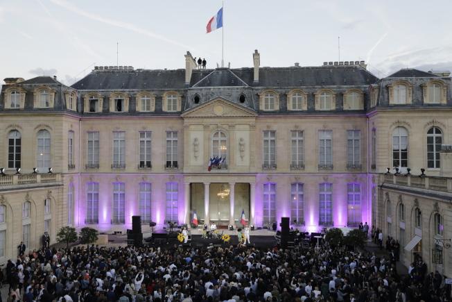 法國總統府艾麗榭宮七件藝術品失竊。(歐新社)