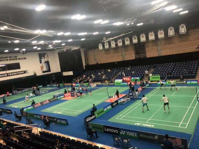2019年Yonex美國羽球公開賽(Yonex US Open 2019)9日在富樂頓州大(Fullerton)拉開帷幕。(記者王若然/攝影)