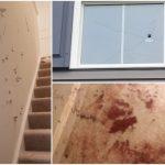裸女闖入家門 男主人連開39槍把家轟成馬蜂窩還趕不走