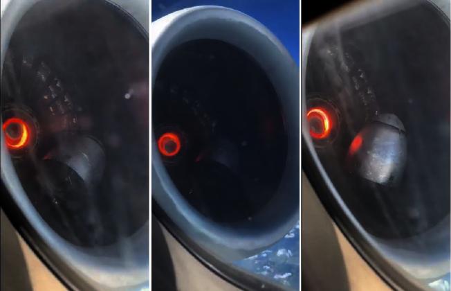 美國達美航空(Delta Airline)一架航班8日從亞特蘭大飛往巴爾的摩途中,因引擎零件故障緊急降落,嚇得機上乘客忙拿手機留遺言,還有人拍攝到引擎內冒火光,零件鬆脫的畫面,格外嚇人。取材自YouTube