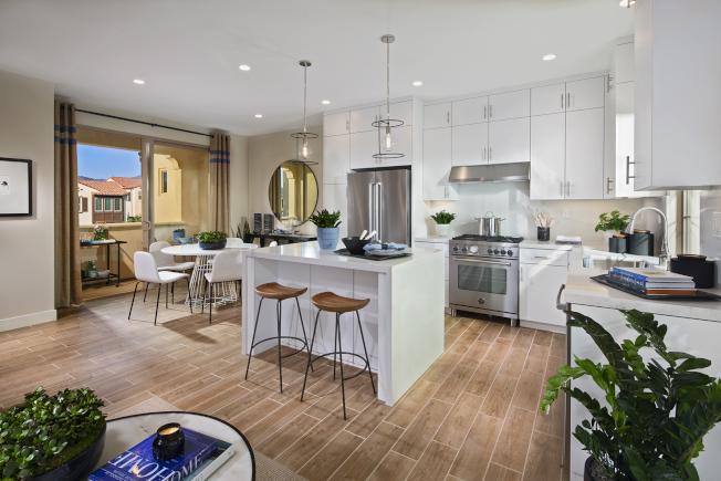 Carissa社區設計以時尚現代化為主。(California Pacific Homes提供)