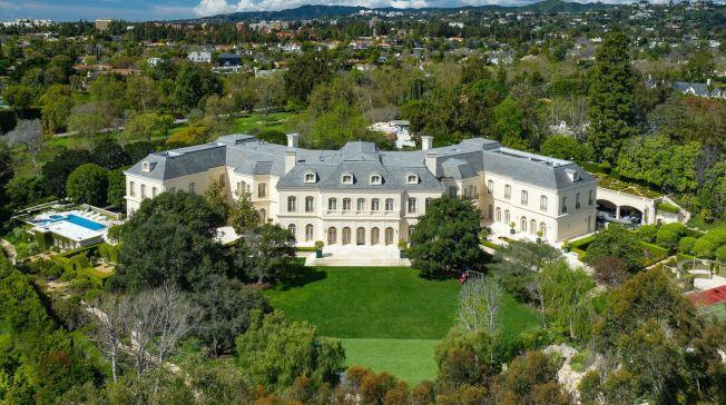 有123個房間的「莊園」豪宅1億1975萬元成交,創下加州與洛杉磯縣史上最高紀錄。(房地產經紀公司提供)
