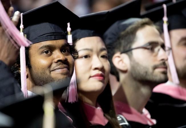 圖為天普大學畢業典禮。(臉書官網)