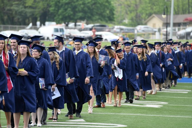 圖為Shippensburg University畢業典禮。(臉書官網)