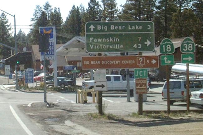 位於聖伯納汀諾縣山區的大熊市,房屋銷售下降約17.2%。(本報檔案照片)