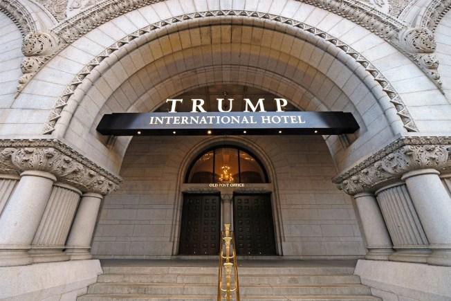 馬州及華府控訴川普在職期間靠同名國際酒店牟利違憲,巡迴上訴法院駁回。(美聯社)