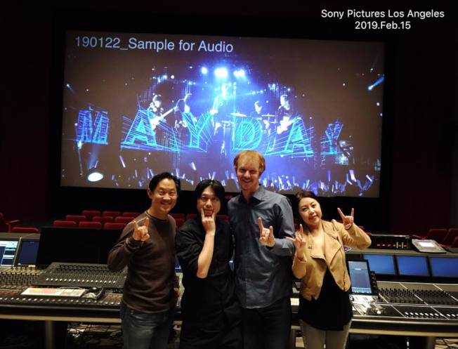 王倩婷二度結緣台灣天團五月天,參與電影《人生無限公司》音樂製作。(圖:王倩婷提供)
