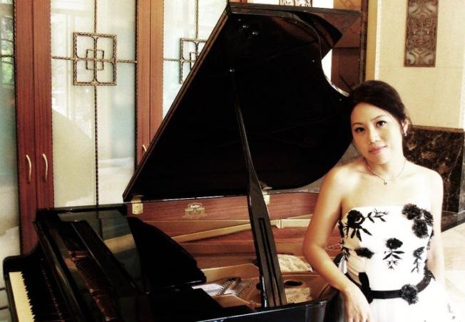 台灣年輕音樂人王倩婷如今在好萊塢闖蕩,逐漸站穩腳跟。(記者高梓原/攝影)