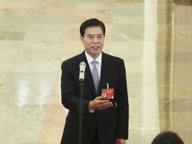 中國商務部部長鍾山9日參與了中美貿易談判牽頭人的通話。(新華社資料照片)