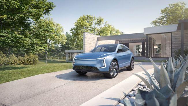 中國初創公司「Seres」,原定下半年在美國推出的電動車(見圖),但10日在矽谷宣布取消推出新車,並且栽員約100人,占矽谷辦事處員工的三分一。(圖:Seres提供)