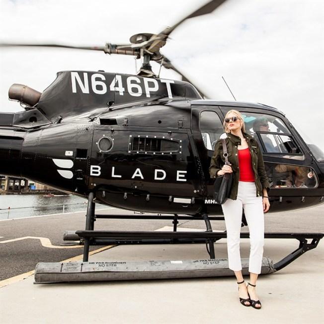 業者在灣區推出直升機通勤服務,從屋崙到矽谷只要十分鐘,也不會塞車。(電視新聞截圖)