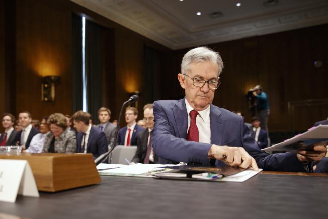 物料成本上漲,其中部分肯定與關稅有關。鮑爾說建商感覺遭到完美風暴所襲擊。(美聯社)