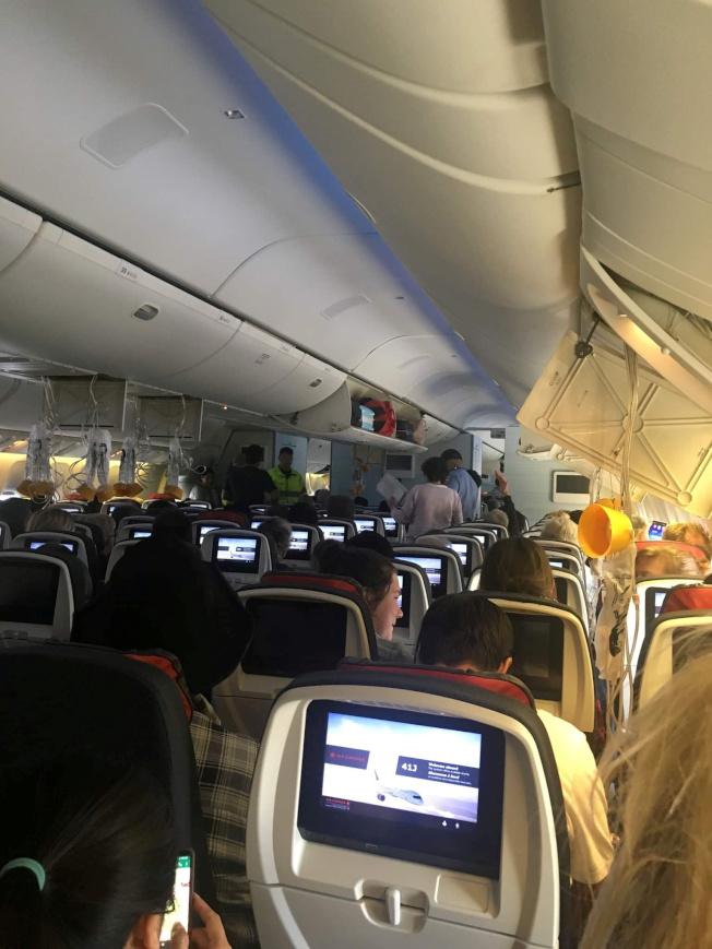 加拿大航空一架客機今天在飛往澳洲雪梨途中遇上亂流,最後緊急迫降夏威夷。(路透)