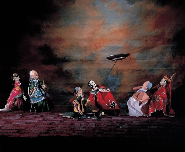 「亦宛然」掌中劇團將於14日在法拉盛文藝中心表演。(文藝中心提供)