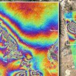 兩次強震 衛星圖現地殼破裂
