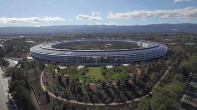 聖他克拉拉縣所做的估值顯示,蘋果的太空船總部價值36億元,蘋果每年因此要繳房地產稅約4000萬元。(Getty Images)