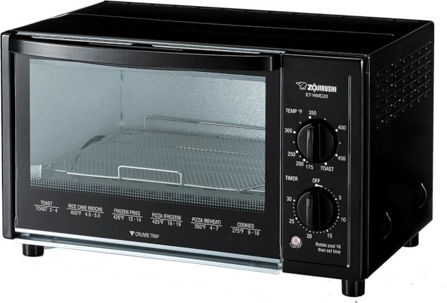 象印便捷烤箱(ET-WMC22)具有多種方便維護及保障使用安全的功能,零售價為105元。