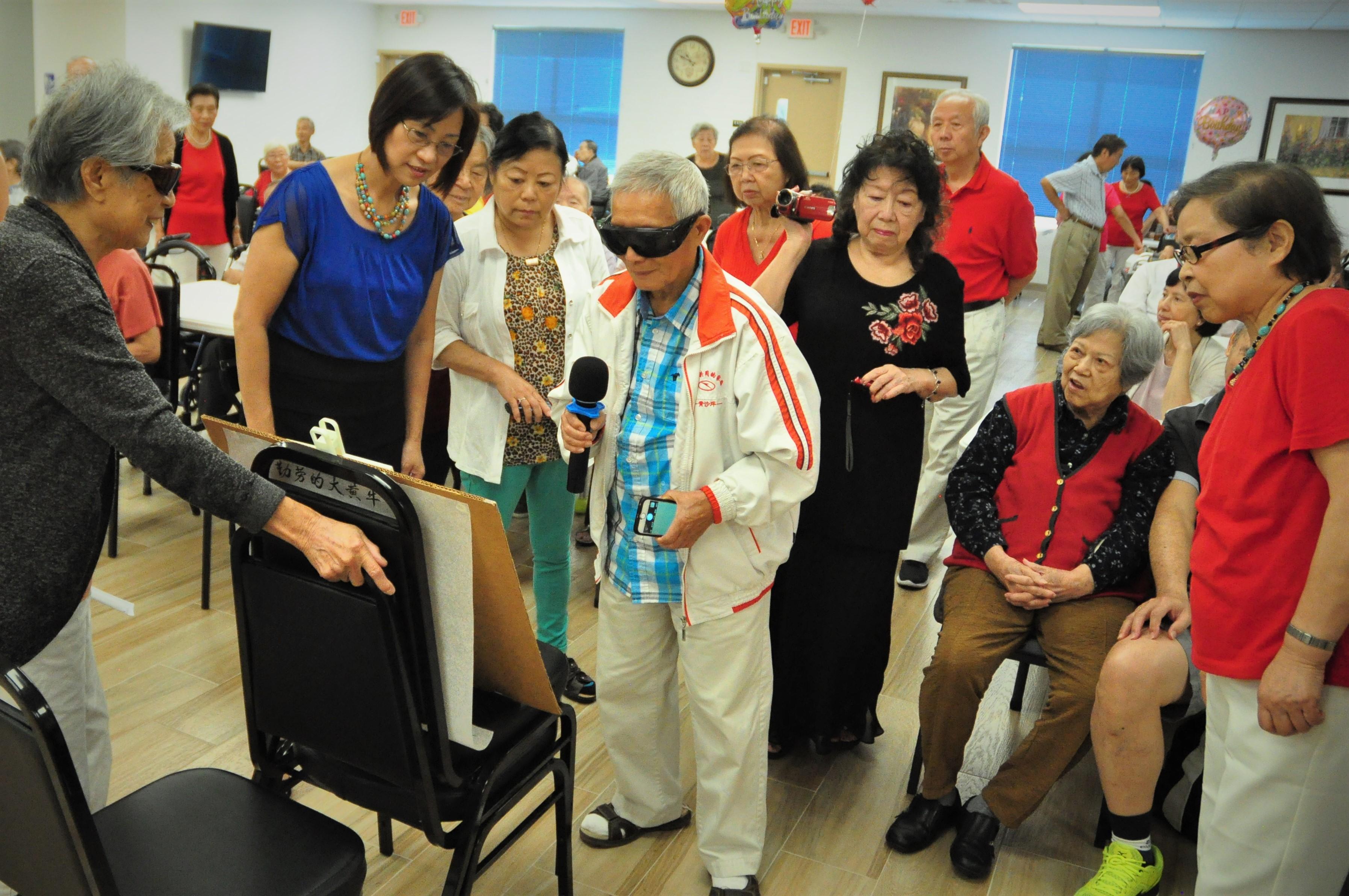 長樂活動中心經常舉辦各類活動,讓長者們生活充實精彩。