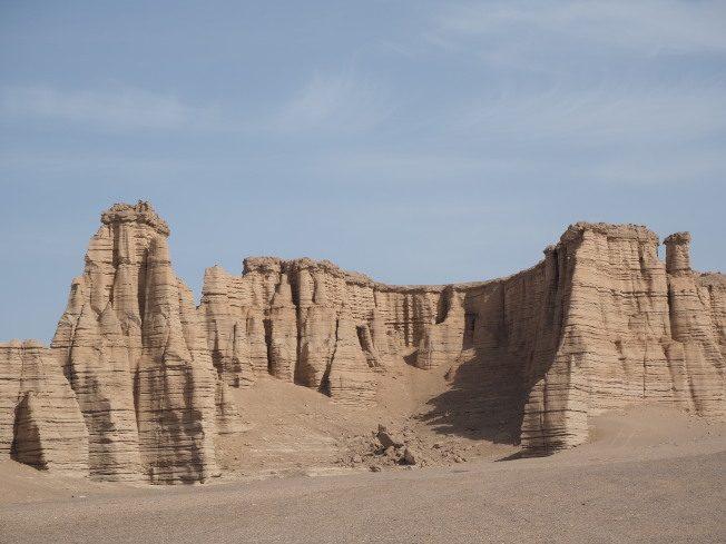 新疆大海道 壯闊的雅丹地貌