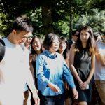 蔡英文紐約會晤台灣留美青年 相約中央公園健走