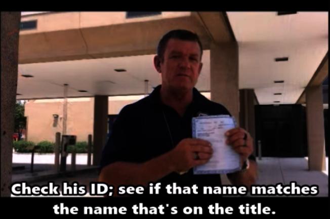 網路上交易買車陷阱多,休士頓警局製作教戰手則影片,教民眾在網上與其他人進行買賣車交易時,應該注意的相關事項。(休士頓警局提供)