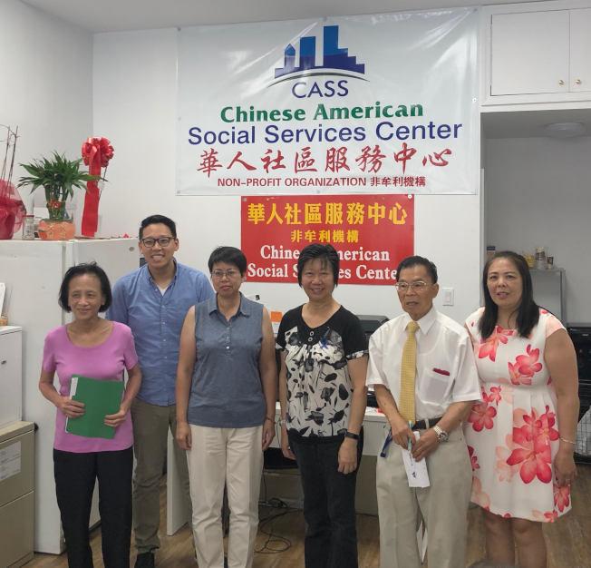 華人社區服務中心舉辦防止家庭暴力講座。(華人社區服務中心提供)