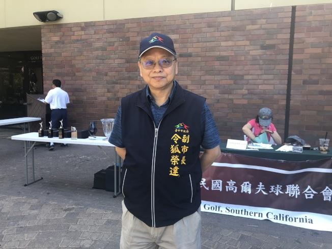 台中市副市長令狐榮達。(記者王若然/攝影)