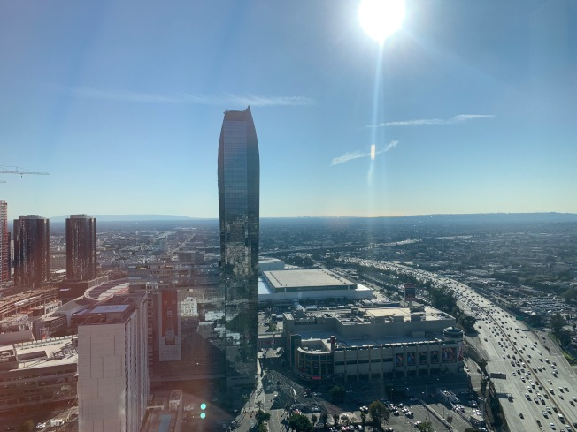 洛杉磯逐漸成為西岸新興產業樞紐。(記者高梓原/攝影)